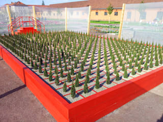 "Regional Garden Show 2015, Landau (GER) - graphically garden ""bizarre"" 根據 Planungsbüro STEFAN LAPORT 簡約風"