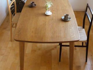 ダイニングテーブル DT02: wood works GLOBEが手掛けたです。