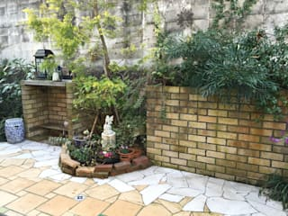 Asian style garden by 庭園空間ラボ teienkuukan Labo Asian