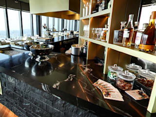 Clouds Restaurant Modern gastronomy by Alcantara Stone Corporation Modern