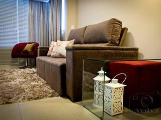 Modern living room by NATALIA ELLWANGER ARQUITETUTA Modern