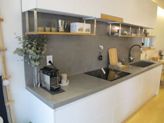 Scandinavian style kitchen by 루트 주택 Scandinavian