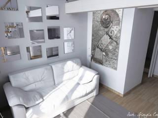 Arch. Giorgia Congiu Modern living room White
