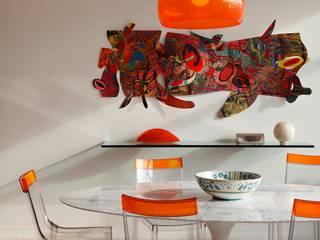 غرفة السفرة تنفيذ Carlos Salles Arquitetura e Interiores