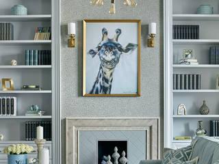 Пространство стиля: Гостиная в . Автор – VVDesign,