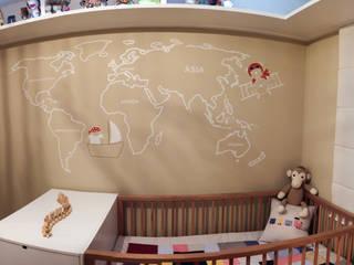 Estúdio Plano Chambre d'enfant moderne Beige