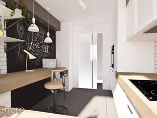 Mieszkanie, Poznań: styl , w kategorii Kuchnia zaprojektowany przez GENERO