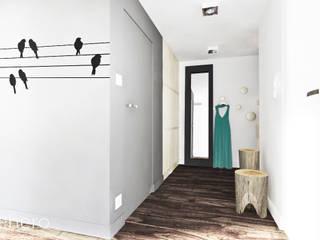 Mieszkanie, Poznań: styl , w kategorii Korytarz, przedpokój zaprojektowany przez GENERO