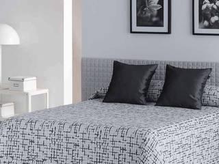 Daniel Celda Decoración de Hogar BedroomTextiles Tekstil Multicolored