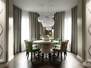 Eclectic style dining room by Лена Инашвили Art at Home Eclectic