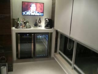 Estúdio Plano Balkon, Beranda & Teras Modern