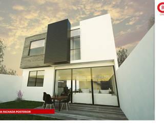 Casa Aqua Casas modernas de Tres-r Moderno