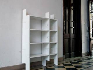 Biblioteca Modular:  de estilo  por MueblesElemental