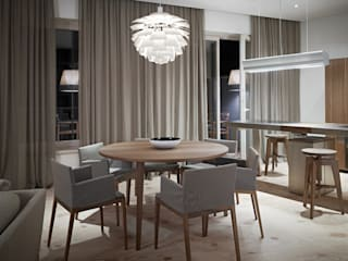 Modern dining room by Baltic Design Shop Modern