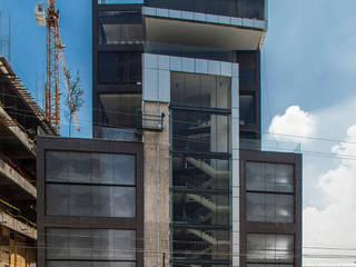 Colegio de la Imagen Publica: Casas de estilo  por Serrano Monjaraz Arquitectos