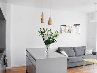 Livings modernos: Ideas, imágenes y decoración de Joanna Kubieniec Moderno