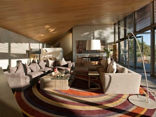 Casa L Comedores modernos de Serrano Monjaraz Arquitectos Moderno