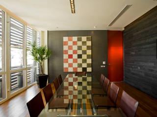 Edificio Vidalta: Comedores de estilo  por Serrano Monjaraz Arquitectos