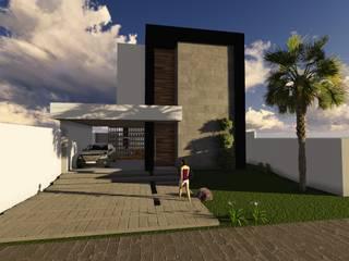 Casas estilo moderno: ideas, arquitectura e imágenes de Caroline Argenta e Elisangela Chioca Moderno