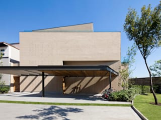 Casa Tierra : Casas de estilo  por Serrano Monjaraz Arquitectos