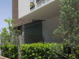 一級建築士事務所アールタイプ Edificios de oficinas de estilo moderno Blanco