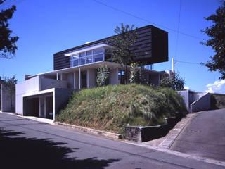 I-HOUSE モダンな 家 の 株式会社長野聖二建築設計處 モダン
