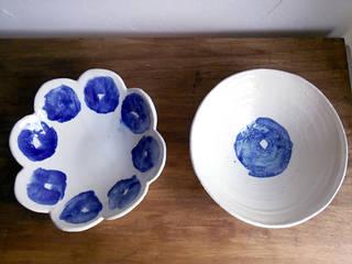 シリーズ『ブルーベリー』: 陶器食器店 a new sprout / junko sakamotoが手掛けたです。