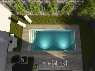 Visualisierung, Render [spafabrik] GmbH POOL&WELLNESS
