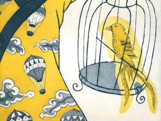La Cage:  de style  par Nathalie Tousnakhoff