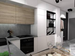 Mieszkanie z industrialnym akcentem Industrialna kuchnia od Designbox Marta Bednarska-Małek Industrialny