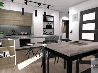 Cocinas de estilo industrial de Designbox Marta Bednarska-Małek Industrial