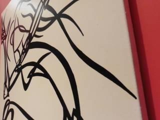Toiles:  de style  par Redpaln Illustrations Calligraphiques