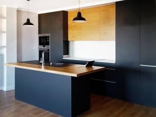 Reforma SE48 Cocinas de estilo moderno de barronkress Moderno