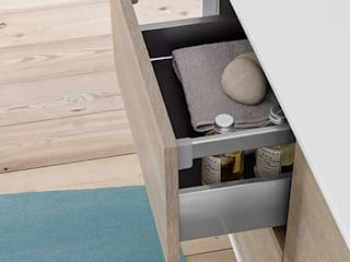 Summit collectio: furniture elements Mastella Design BathroomStorage Engineered Wood Wood effect