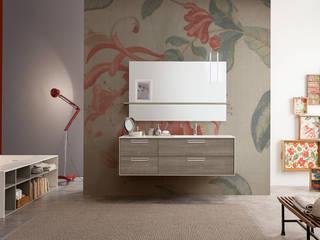 Mastella Design의 현대 , 모던 엔지니어드 우드 투명