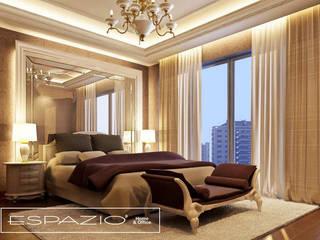 Apartamento de Luxo: Quartos  por Espazio - Home & Office,Clássico