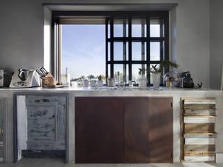 Laquercia21 Cocinas de estilo ecléctico