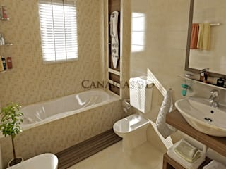 Baños: Hoteles de estilo  de Canarias  3D