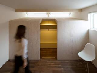 Chambre de style  par 一級建築士事務所 Atelier Casa, Minimaliste