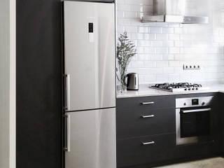 Cocina Gris de materiales sinceros Cocinas de estilo escandinavo de barronkress Escandinavo