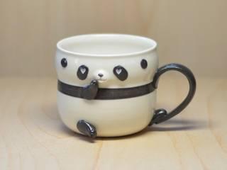 パンダカップ: 丸山陶房が手掛けたです。,