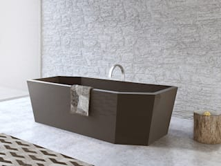 Modern style bathrooms by 3D-Spirit.de | Architekturvisualisierungen Modern
