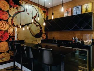 Modern wine cellar by Queiti Magalhães Arquitetura e Decorações Modern
