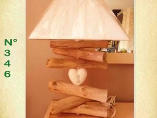 Exemples de réalisations en bois flotté:  de style  par regard ingenieux