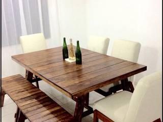 Comedor Vintage:  de estilo  por Gonmar Diseño y Mobiliario