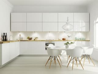Scandinavian style kitchen by Maqet Scandinavian