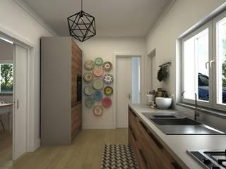 Moradia: Cozinhas  por Maqet,Moderno