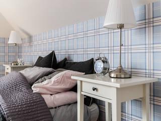 Minimalist bedroom by Gzowska&Ossowska Pracownie Architektury Wnętrz Minimalist