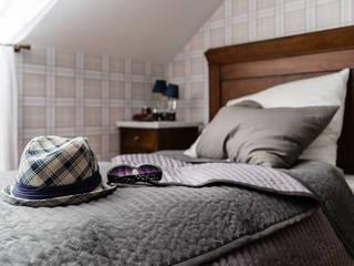 Dormitorios modernos de Gzowska&Ossowska Pracownie Architektury Wnętrz Moderno