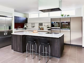 ALNO kitchen - as seen on Building The Dream The ALNO Store Bristol Cucina moderna